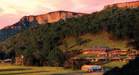 沃爾根谷度假水療中心(Wolgan Valley Resort and Spa),藍山