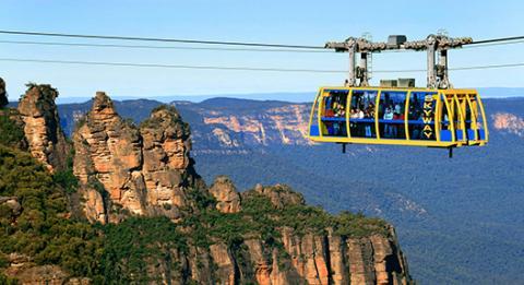 觀景世界(Scenic World),藍山