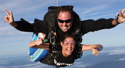 考夫斯(Coffs)高空跳傘