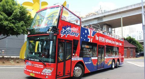雪梨觀光巴士(Sydney Explorer)