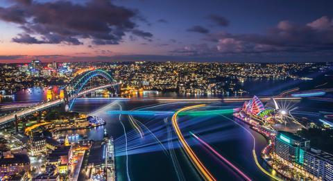 繽紛雪梨燈光音樂節