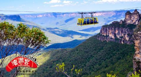 Scenic World in Katoomba, Blue Mountains