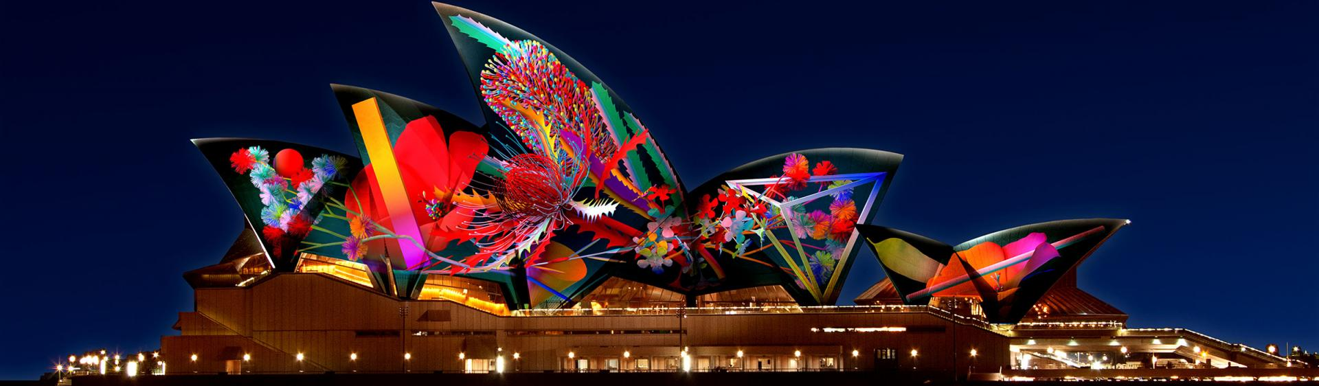Sydney City Vivid Sydney Light, Music and Ideas