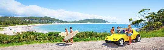 滑浪,史蒂芬斯港(Port Stephens)