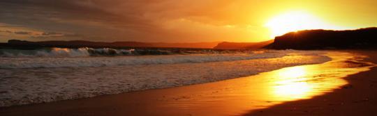 普蒂海灘(Putty Beach)營地的景色,波第國家公園(Bouddi National Park)