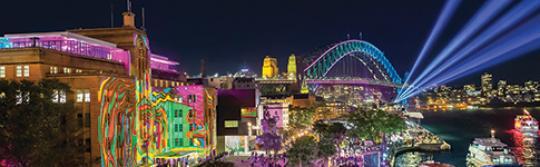 繽紛雪梨燈光音樂節(Vivid Sydney)2018
