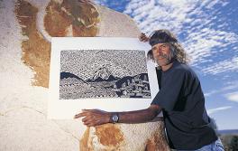 原住民藝術家,新南威爾士內陸