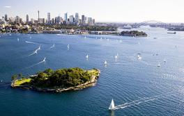 雪梨海港國家公園克拉克島
