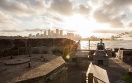 雪梨海港國家公園丹尼森堡(Fort Denison)