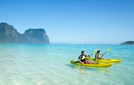 划橡皮艇,豪勳爵島(Lord Howe Island)