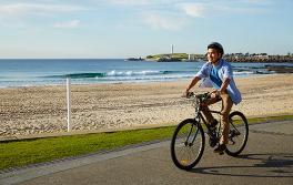 臥龍崗海灘騎單車,臥龍崗(Wollongong)