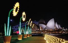 雪梨歌劇院,繽紛雪梨燈光音樂節2018